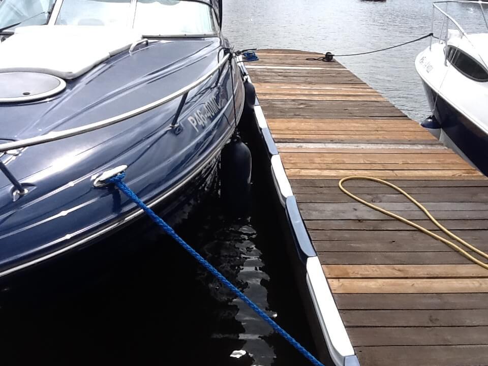 Кранец своими руками на лодку 54